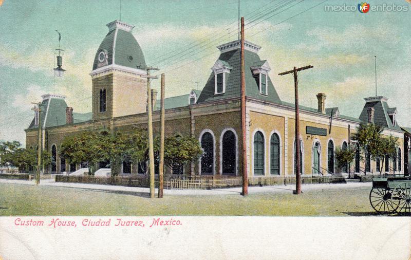Fotos de Ciudad Ju�rez, Chihuahua, M�xico: Edificio de la Aduana