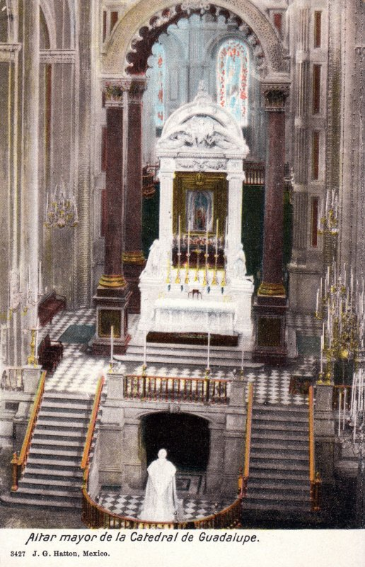 Altar mayor de la Catedral de Guadalupe