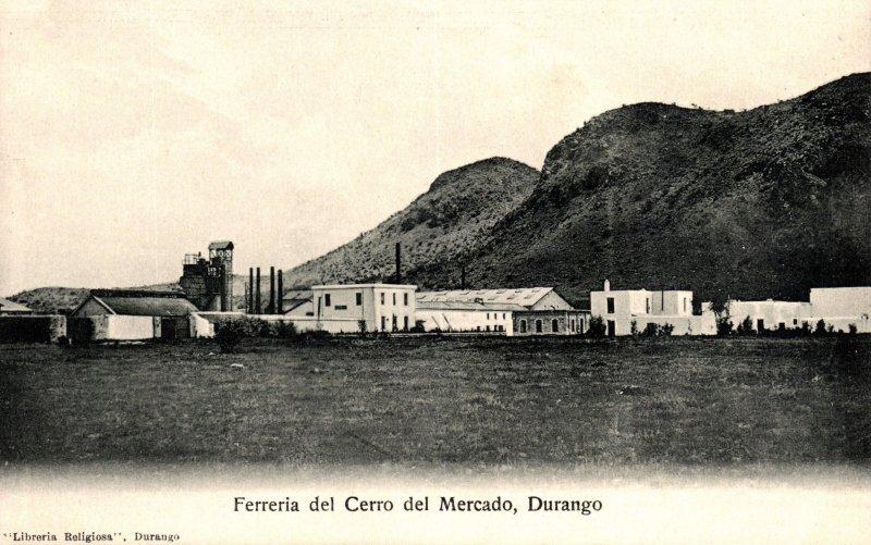 Fotos de Durango, Durango, M�xico: Cerro del Mercado y Fundici�n
