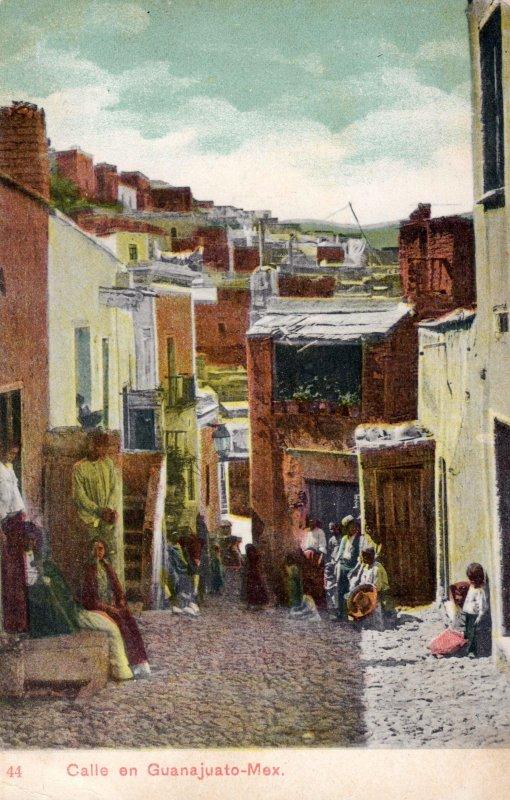 Calle en Guanajuato