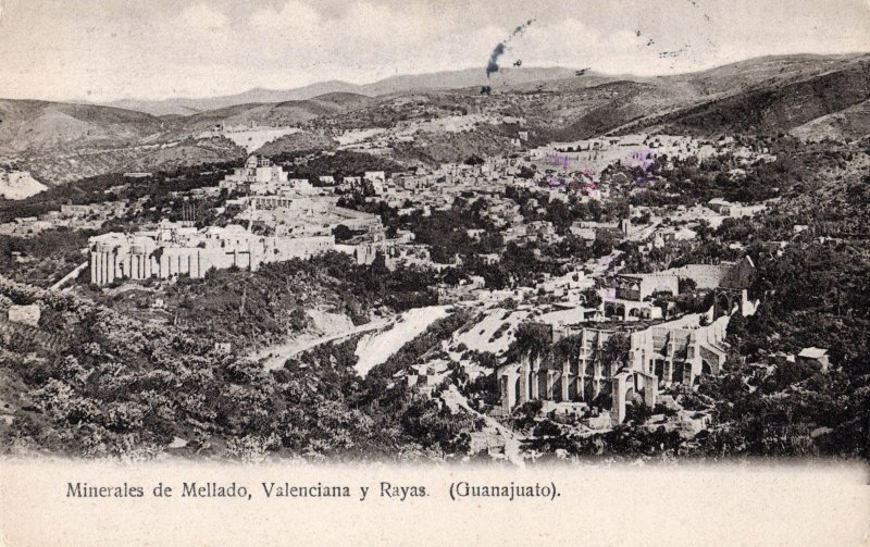 Minerales de Mellado, Valenciana y Rayas