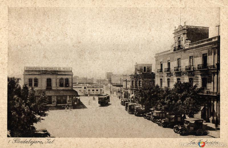 Estación de Ferrocarriles Nacionales de México