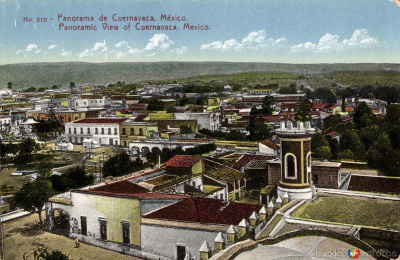 Vista panorámica de Cuernavaca