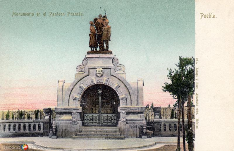 Monumento en el Panteón Francés
