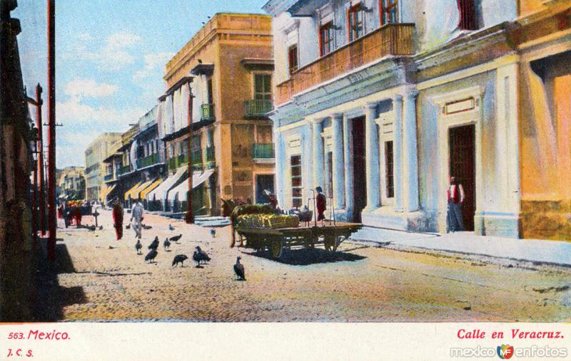 Fotos de Veracruz, Veracruz, México: Una calle de Veracruz