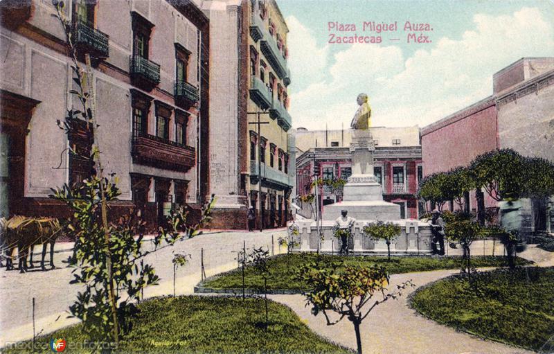 Fotos de Zacatecas, Zacatecas, México: Plaza Miguel Auza