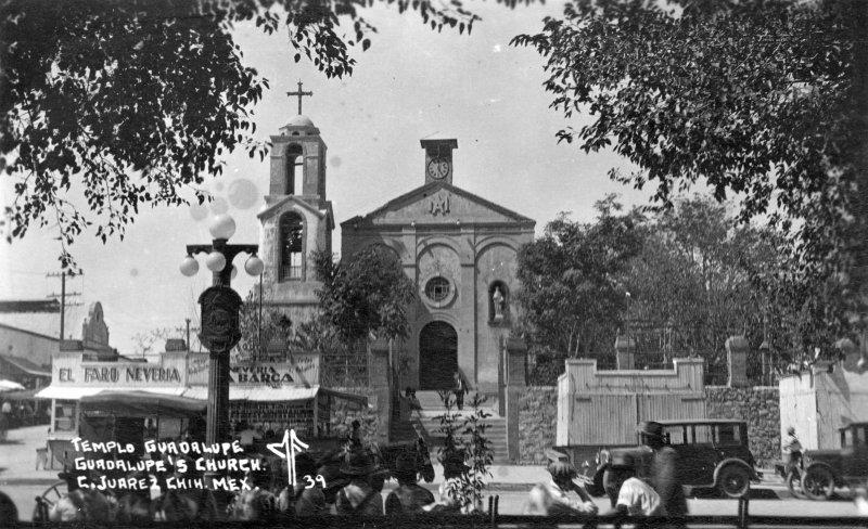 Fotos de Ciudad Ju�rez, Chihuahua, M�xico: Misi�n de Guadalupe (ca. 1923)