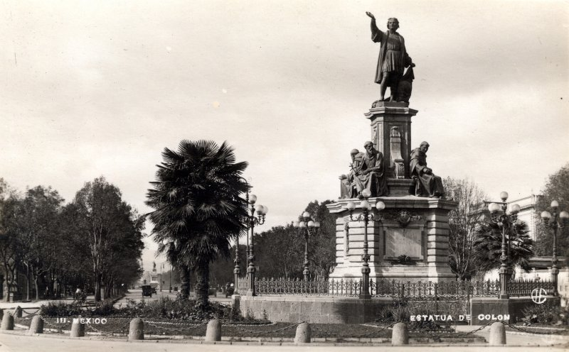 Paseo de la Reforma: Monumento a Cristóbal Colón