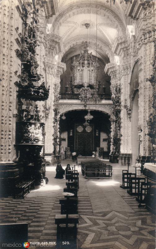 Fotos de Taxco, Guerrero, México: Interior de la Iglesia de Santa Prisca