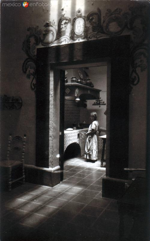 Fotos de Taxco, Guerrero, México: Cocina típica en la Casa Figueroa