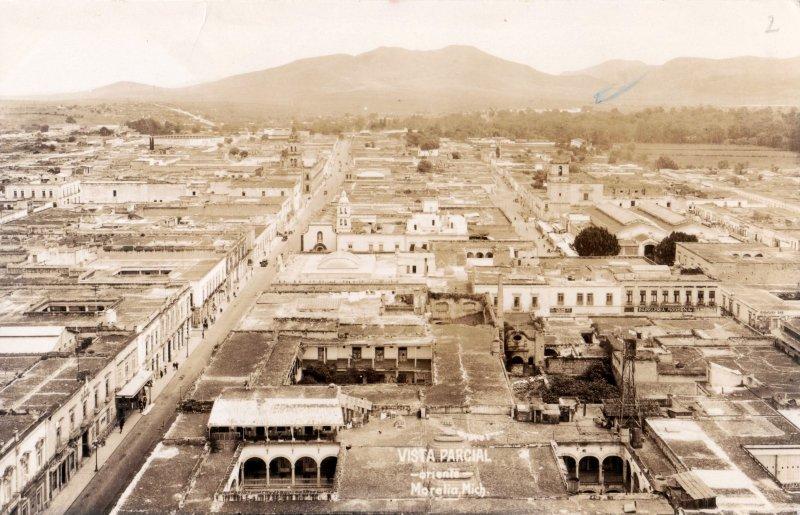 Vista panorámica de Morelia