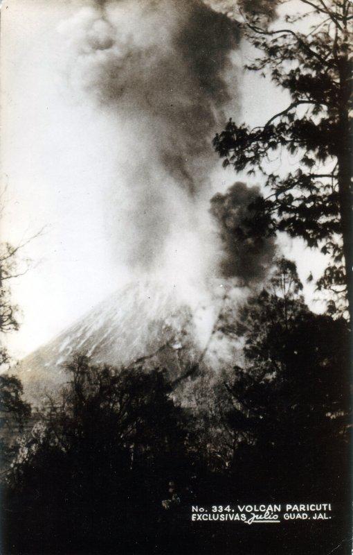 Fotos de Paricut�n, Michoac�n, M�xico: Erupci�n del Volc�n Paricut�n