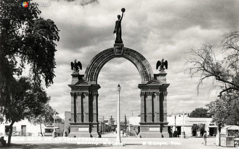 Fotos de Monterrey, Nuevo Le�n, M�xico: Arco de la Independencia