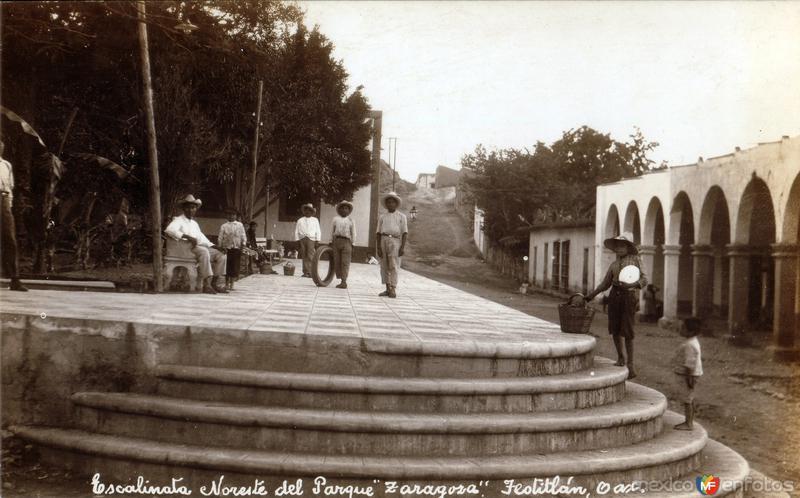 Escalinata del Parque Zaragoza