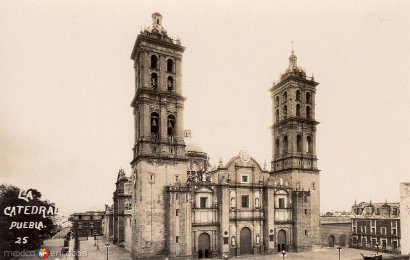 Fotos de Puebla, Puebla, M�xico: Catedral de Puebla