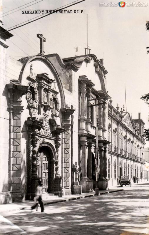 Sagrario y Universidad de San Luis Potosí