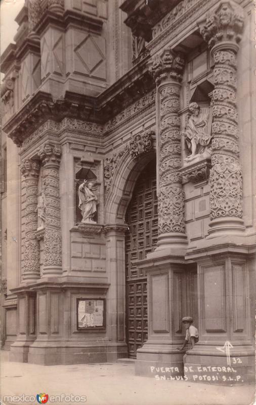 Portada de la Catedral de San Luis Potosí