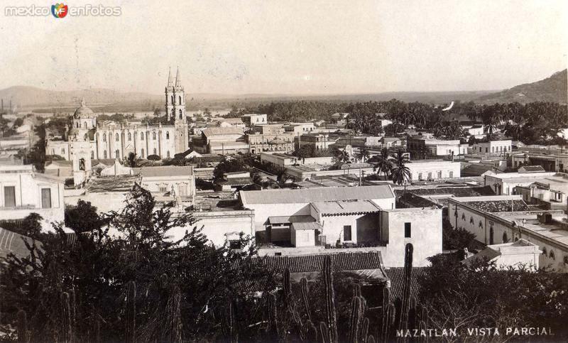 Vista panorámica de Mazatlán