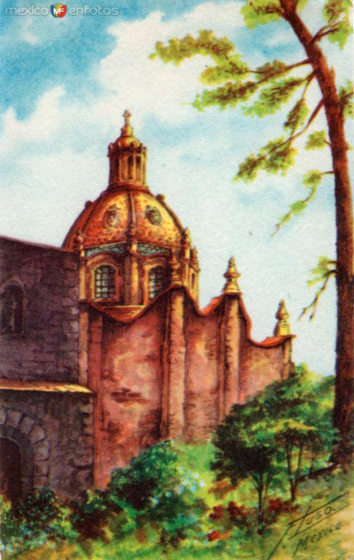 Iglesia de El Carmen, en San Angel