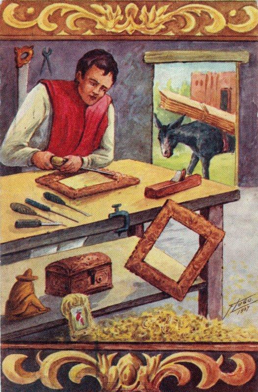 No. 101: Artesano de madera