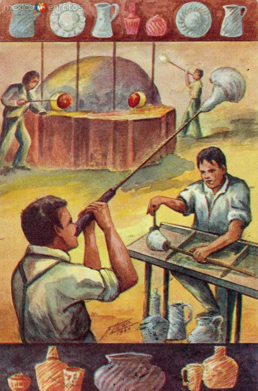 No. 102: Artesanos de vidrio