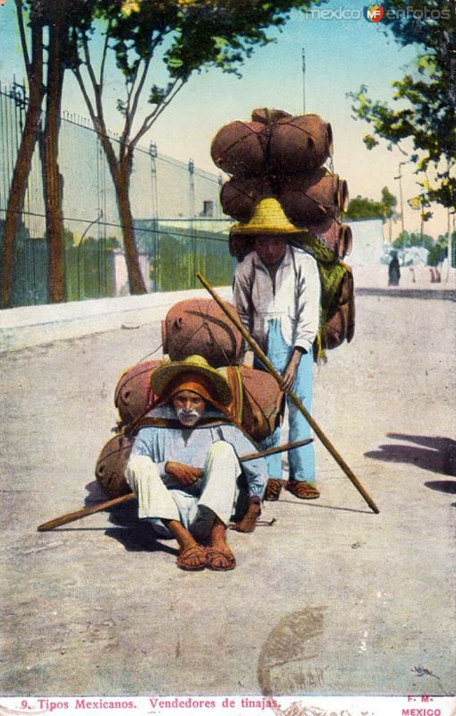 Vendedores de tinajas