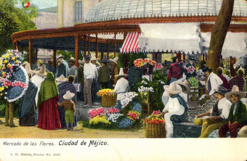 Fotos de Ciudad de M�xico, Distrito Federal, M�xico: Mercado de las Flores