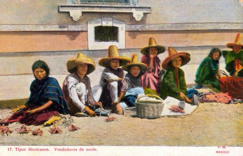 Vendedores de ocote