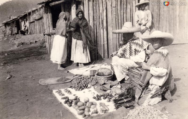 Vendedores de verduras
