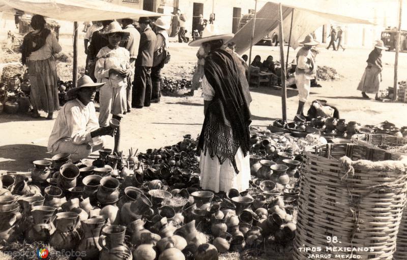Vendedores de jarros