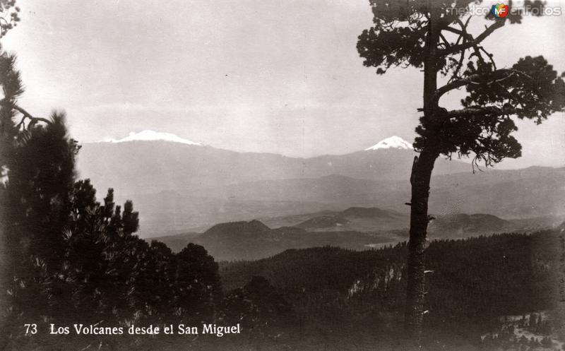 Los Volcanes desde el San Miguel