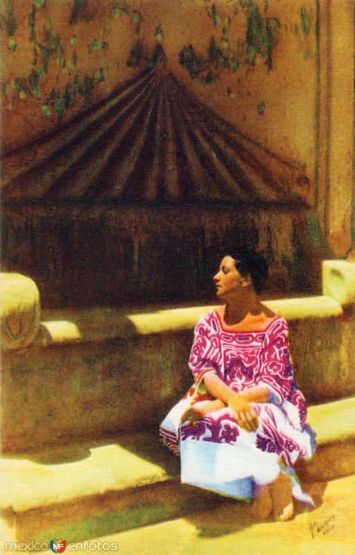 No. 26: La muchacha Oaxaqueña