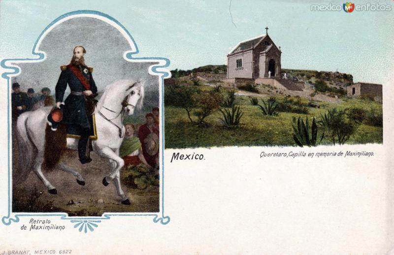 Retraro de Maximiliano / Capilla en Memoria de Maximiliano