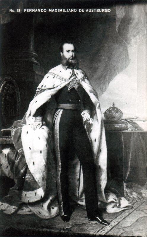 El emperador Maximiliano de Habsburgo