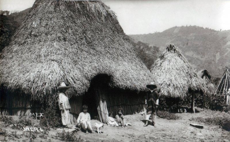 Chozas indígenas