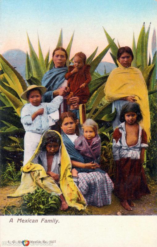 Una familia mexicana