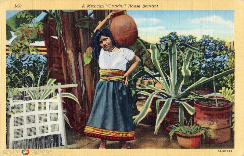 Una criada mexicana