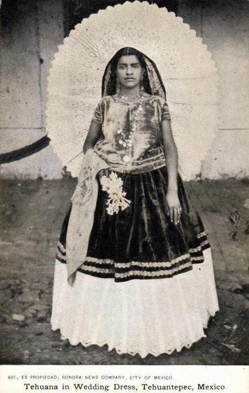 Fotos De Tehuantepec  Oaxaca  M  Xico  Tehuana En Vestido De Novia