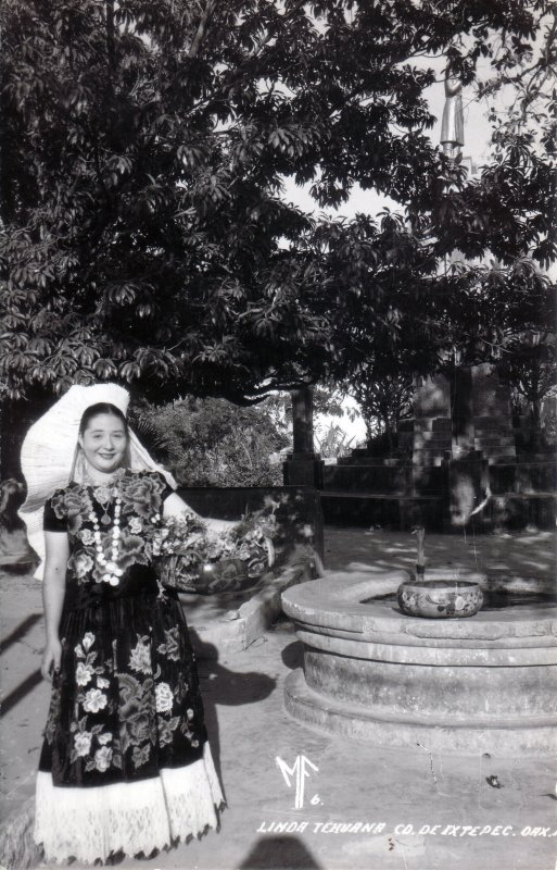 Fotos de Ixtepec, Oaxaca, M�xico: Tehuana en Ciudad Ixtepec