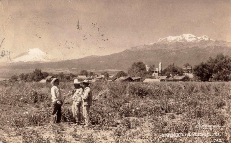 Volcanes Popocatépetl e Iztaccíhuatl
