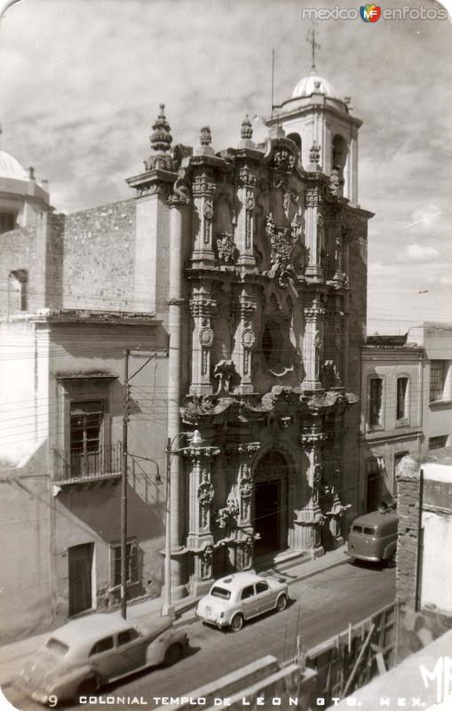 Templo colonial de León