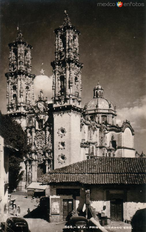 Fotos de Taxco, Guerrero, M�xico: Templo de Santa Prisca