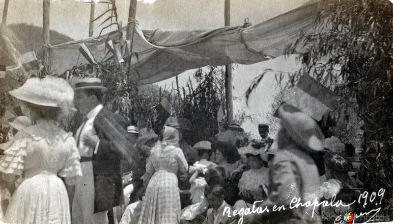 Regalos en Chapala. 1909