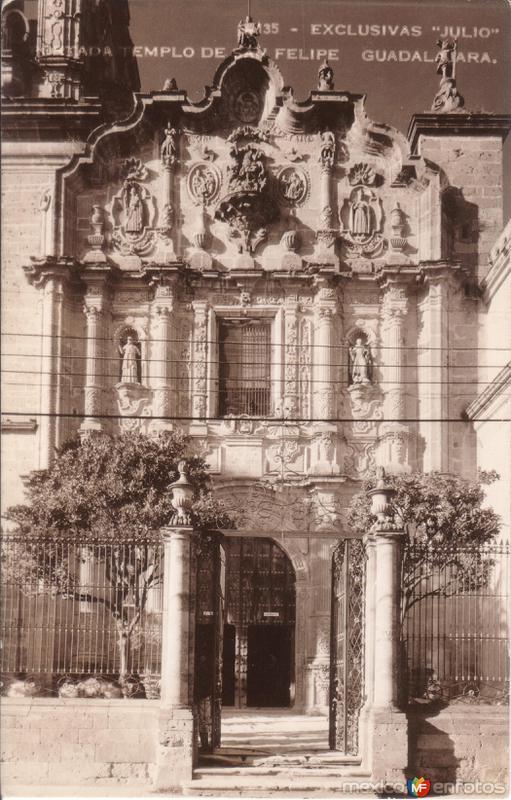 Portada del Templo de San Felipe