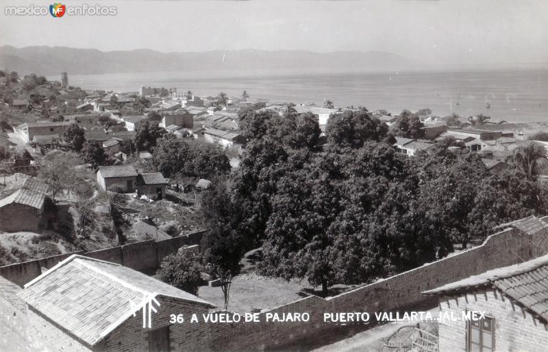Puerto Vallarta a Vuelo de Pájaro