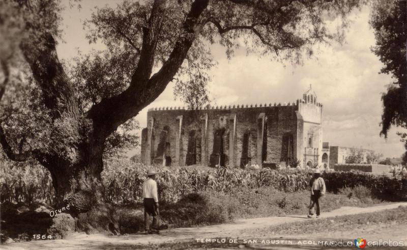 Templo de San Agustín Acolmán