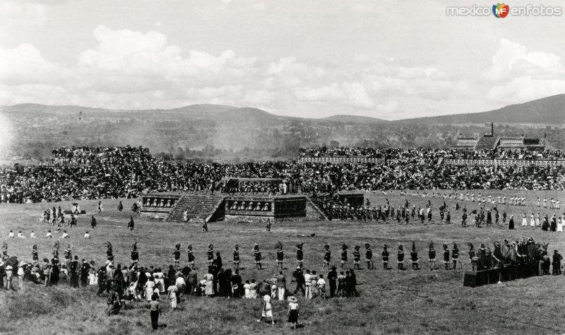 Ceremonias en Teotihuacán