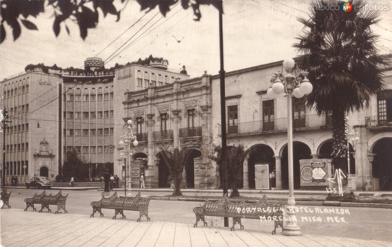 Portales y Hotel Alameda