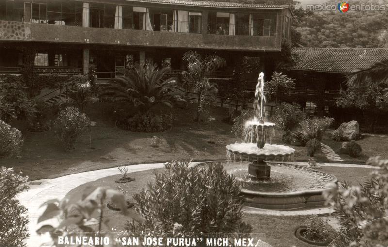 Fotos de Tuxpan, Michoac�n, M�xico: Balneario San Jos� Purua