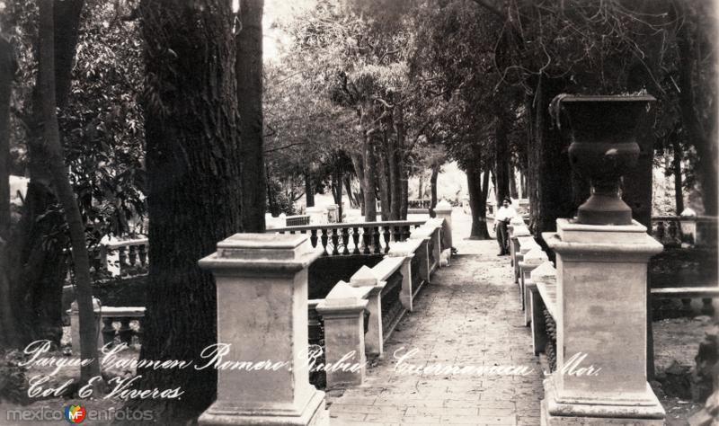 Parque Carmen Romero Rubio. Col. E. Viveros